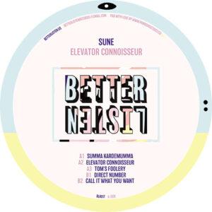 Sune - Elevator Connoisseur EP
