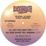 De-mixes: Vol 4 - Loveface