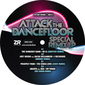 Attack The Dancefloor ? Special Remix EP - The Sunburst Band